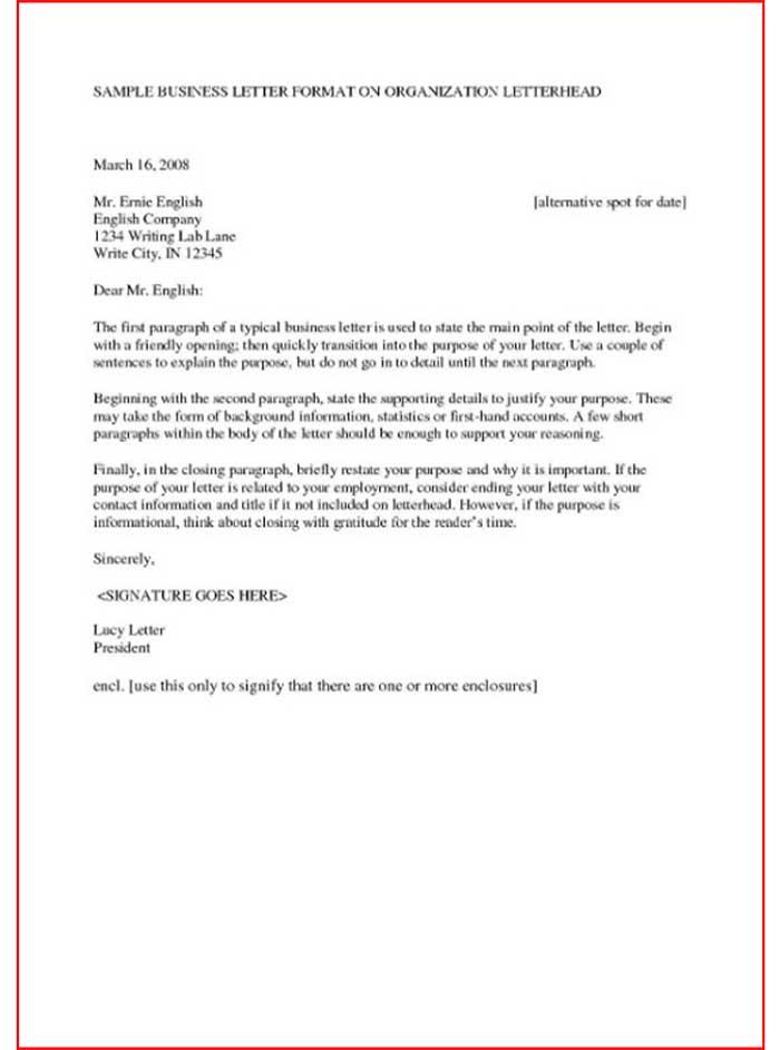 Surat Serah Terima Bahasa Inggris