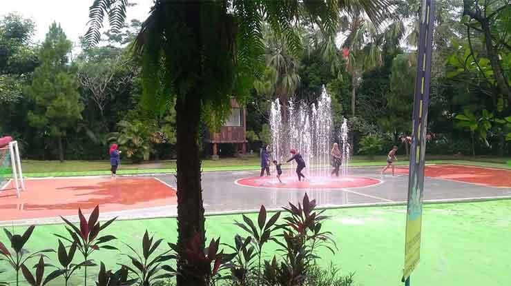 Futsal Fountain Water Kingdom