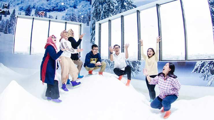 Harga Tiket Trans Snow World Berkasi Terbaru