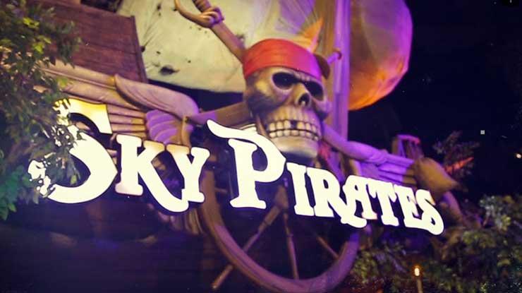 Wahana Sky Pirates