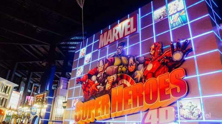 Trans Studio Bandung Wahana Super Heroes