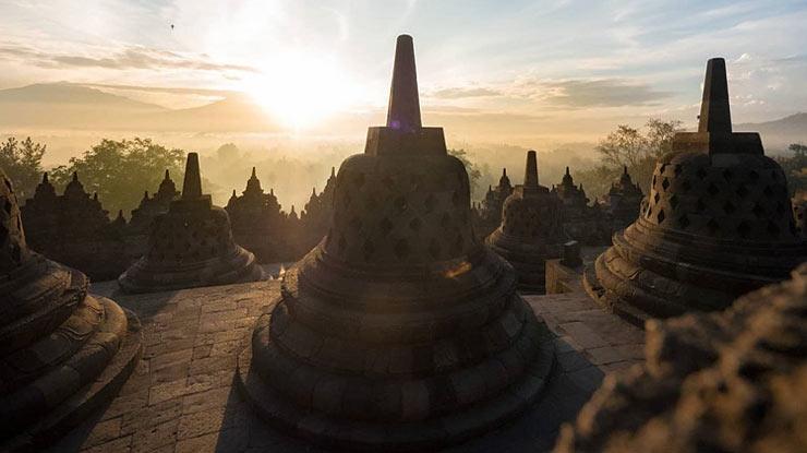 Zona Arupadhatu Candi Borobudur