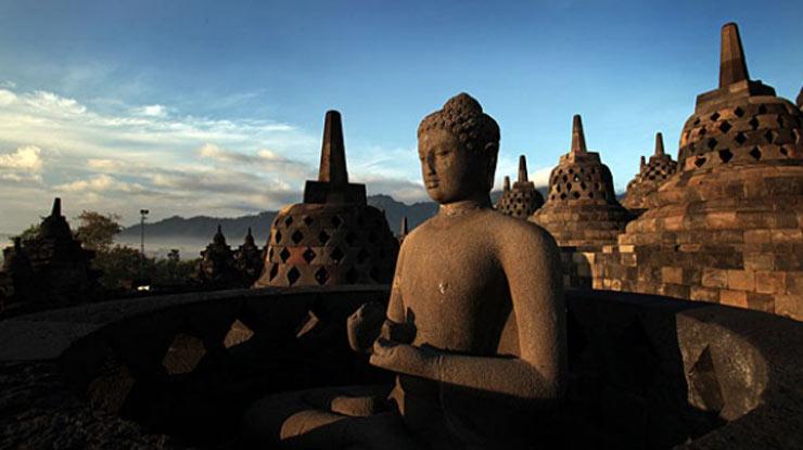 Zona Rupadhatu Candi Borobudur