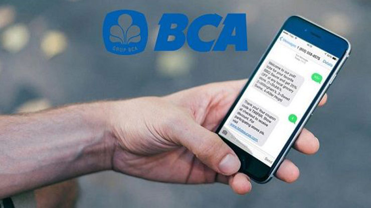 1. SMS Banking BCA