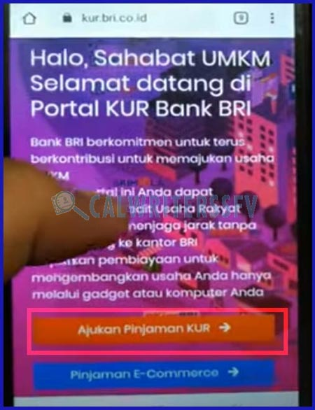 1.Akses Website Resmi BRI