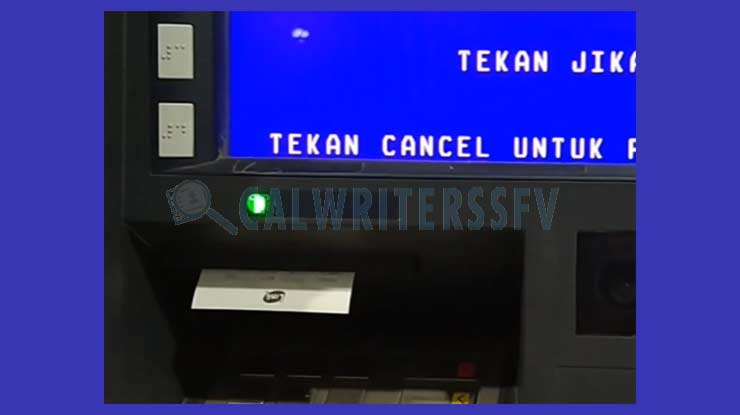 12. Bayar FIF Lewat ATM BRI Berhasil