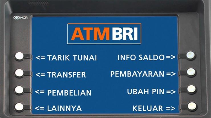Transfer Antar Bank via ATM BRI